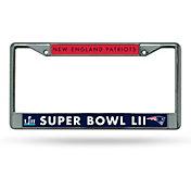 Rico Super Bowl LII Bound New England Patriots License Plate Frame