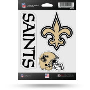 Rico New Orleans Saints Triple Spirit Stickers