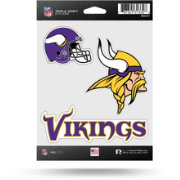 Rico Minnesota Vikings Triple Spirit Stickers