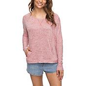 Roxy Women's Mystic Water Long Sleeve Sweatshirt