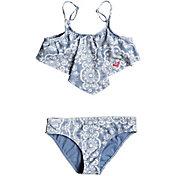 Roxy Girl's Nautical Summer Bandana Two Piece Swim Set