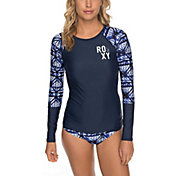 Roxy Women's Fitness Lycra Long Sleeve Rash Guard