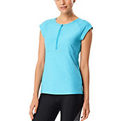 Speedo Women's Cap Sleeve Rash Guard