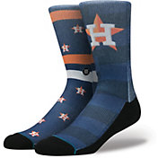 Stance Houston Astros Splatter Crew Socks
