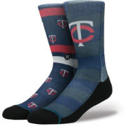 Stance Minnesota Twins Splatter Crew Socks