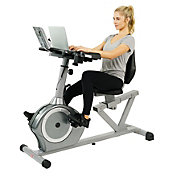 Sunny Health & Fitness Magnetic Recumbent Desk Bike