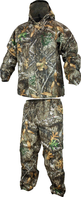 Compass 360 Men's SportTEK Camo Rain Suit, Size: Medium, Multi thumbnail