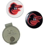 Team Effort Baltimore Orioles Hat Clip and Ball Markers Set
