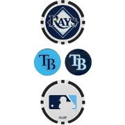 Team Effort Tampa Bay Rays Ball Marker Set