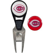 Team Effort Cincinnati Reds CVX Divot Tool and Ball Marker Set