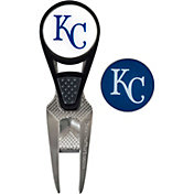 Team Effort Kansas City Royals CVX Divot Tool and Ball Marker Set