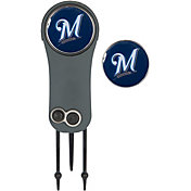 Team Effort Milwaukee Brewers Switchblade Divot Tool and Ball Marker Set