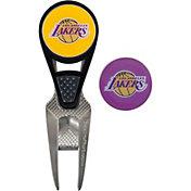 Team Effort Los Angeles Lakers CVX Divot Tool and Ball Marker Set