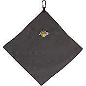 """Team Effort Los Angeles Lakers 15"""" x 15"""" Microfiber Golf Towel"""