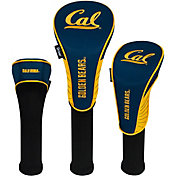 Team Effort Cal Golden Bears Headcovers - 3 Pack