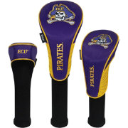 Team Effort East Carolina Pirates Headcovers - 3 Pack