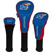 Team Effort Kansas Jayhawks Headcovers - 3 Pack