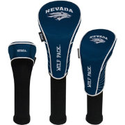 Team Effort Nevada Wolf Pack Headcovers - 3 Pack