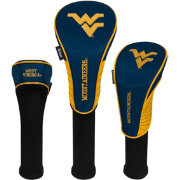 Team Effort West Virginia Mountaineers Headcovers - 3 Pack