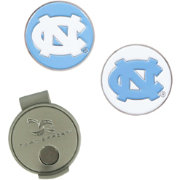 Team Effort North Carolina Tar Heels Hat Clip and Ball Markers Set