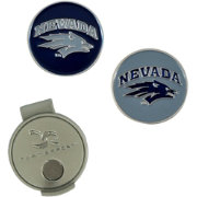 Team Effort Nevada Wolf Pack Hat Clip and Ball Markers Set