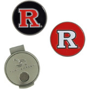 Team Effort Rutgers Scarlet Knights Hat Clip and Ball Markers Set