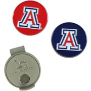 Team Effort Arizona Wildcats Hat Clip and Ball Markers Set