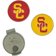 Team Effort USC Trojans Hat Clip and Ball Markers Set