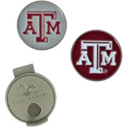 Team Effort Texas A&M Aggies Hat Clip and Ball Markers Set