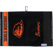 Team Effort Oregon State Beavers Face/Club Jacquard Golf Towel