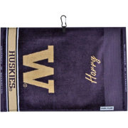 Team Effort Washington Huskies Face/Club Jacquard Golf Towel