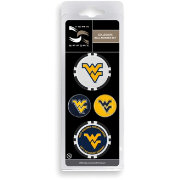Team Effort West Virginia Mountaineers Ball Marker Set