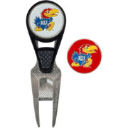 Team Effort Kansas Jayhawks CVX Divot Tool and Ball Marker Set