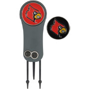Team Effort Louisville Cardinals Switchblade Divot Tool and Ball Marker Set