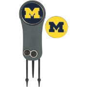 Team Effort Michigan Wolverines Switchblade Divot Tool and Ball Marker Set