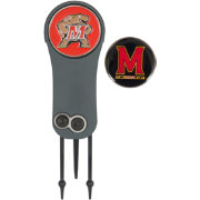 Team Effort Maryland Terrapins Switchblade Divot Tool and Ball Marker Set