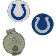 Team Effort Indianapolis Colts Hat Clip and Ball Markers Set