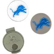 Team Effort Detroit Lions Hat Clip and Ball Markers Set