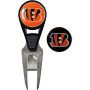 Team Effort Cincinnati Bengals CVX Divot Tool and Ball Marker Set