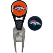 Team Effort Denver Broncos CVX Divot Tool and Ball Marker Set