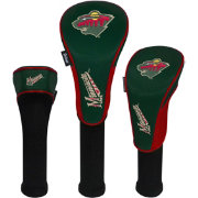 Team Effort Minnesota Wild Headcovers - 3 Pack