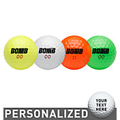 Top Flite Bomb Explosion Multi-Color Personalized Golf Balls – 24 Pack