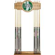 Trademark Global Boston Celtics Fade Logo Cue Rack
