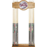 Trademark Global Cleveland Cavaliers Fade Logo Cue Rack