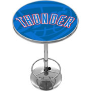 Trademark Global Oklahoma City Thunder Fade Logo Pub Table
