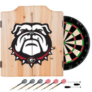Trademark Global Georgia Bulldogs Dart Cabinet Set