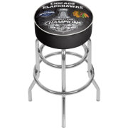 Trademark Global Chicago Blackhawks 2015 Stanley Cup Bar Stool