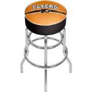 Trademark Global Philadelphia Flyers Swivel Padded Bar Stool