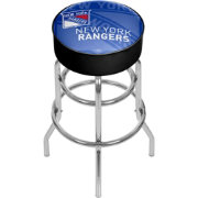 Trademark Global New York Rangers Watermark Bar Stool