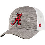Top of the World Men's Alabama Crimson Tide Grey Warmup Adjustable Hat
